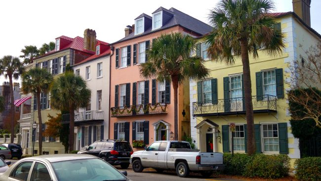 Houses in Charleston
