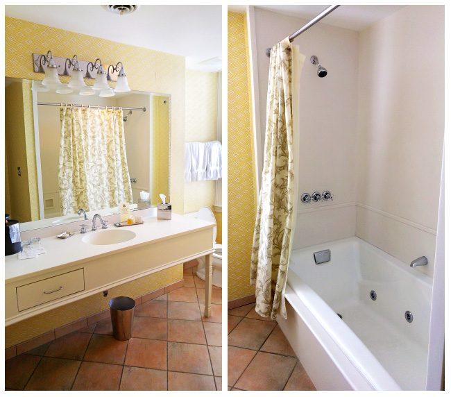 Our Bathroom at Fulton Lane Inn in Charleston