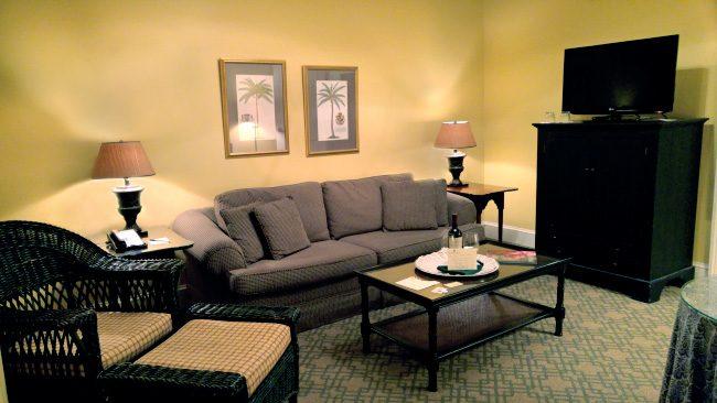 Living Room at Fulton Lane Inn in Charleston