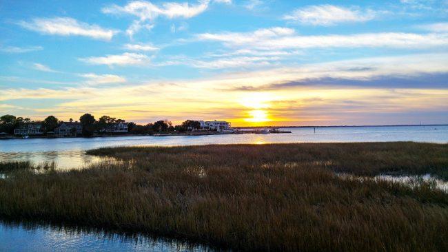 Sunset in Mount Pleasant
