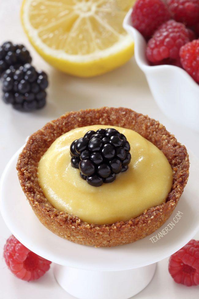 Paleo Mini Lemon Tarts