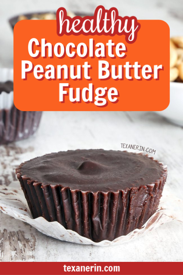 Healthy Peanut Butter Chocolate Fudge (naturally vegan, grain-free, gluten-free and dairy-free with a paleo and nut-free option)