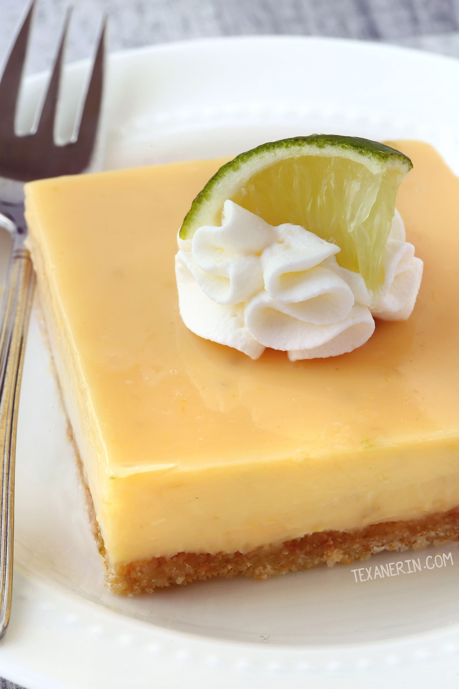 Gluten-free Key Lime Pie Bars (whole grain, all-purpose options ...