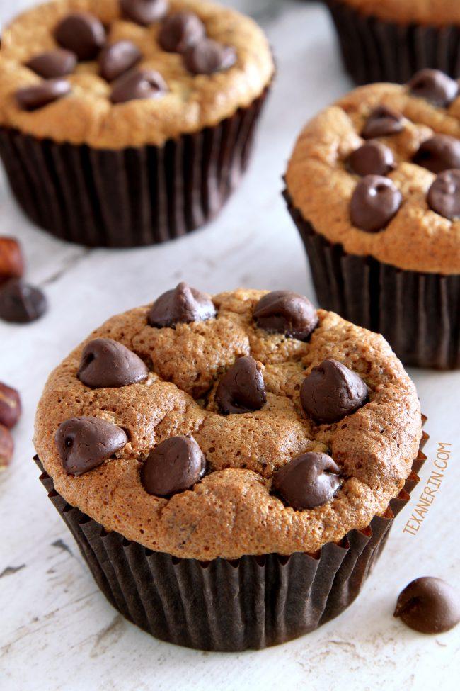 Paleo Hazelnut Muffins with a great texture (gluten-free, grain-free, dairy-free)