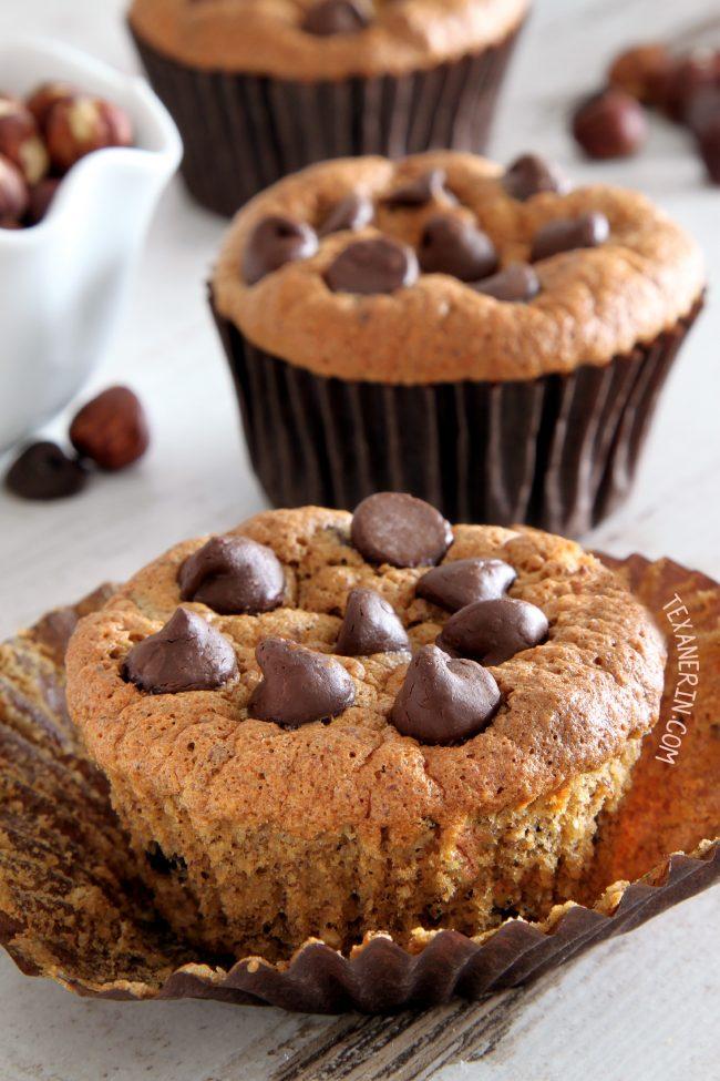 Paleo Hazelnut Muffins with a great texture (grain-free, gluten-free, dairy-free)