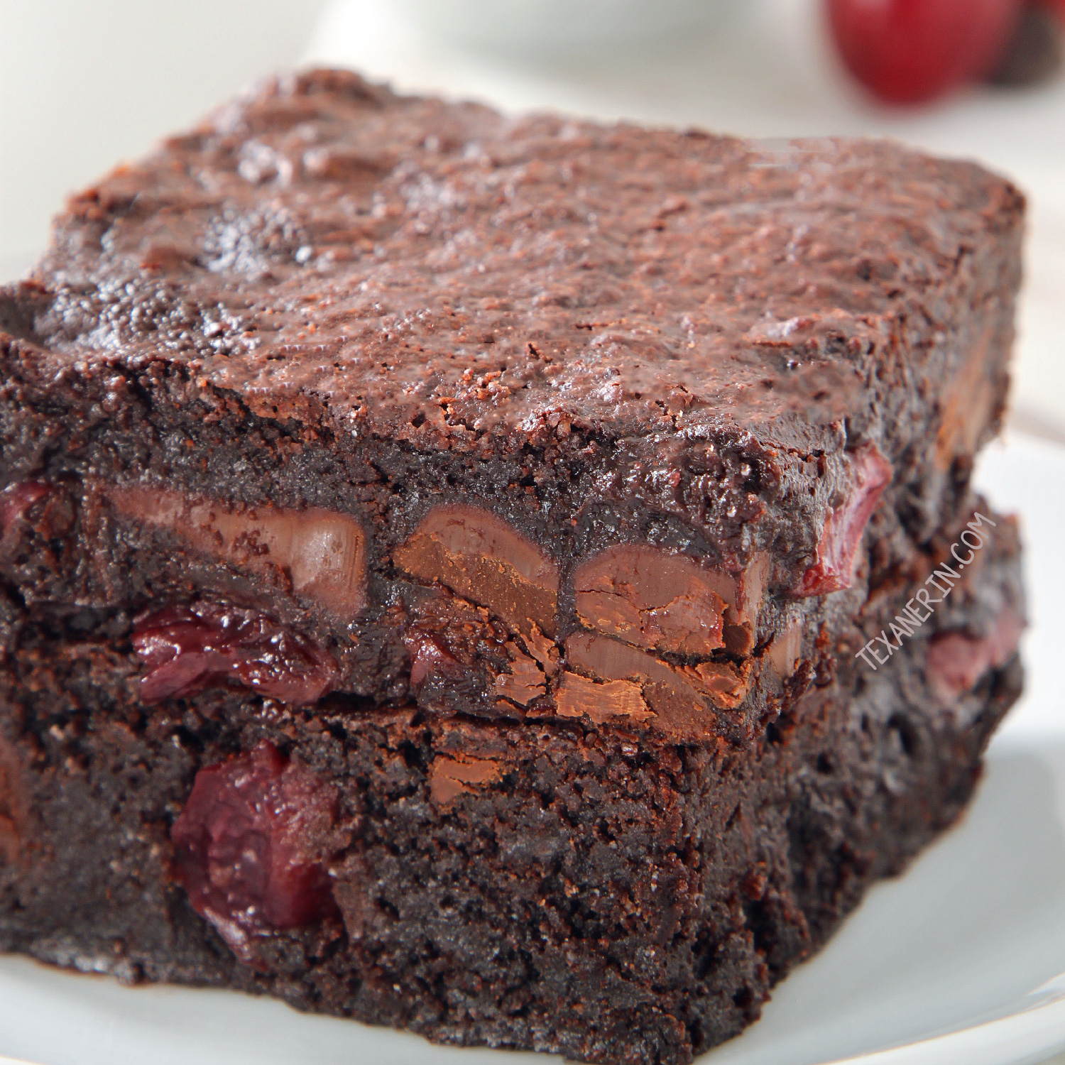 amazingly delicious whole-grain brownies