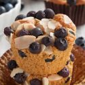 The Best Paleo Blueberry Muffins