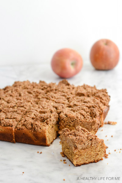 Gluten Free Apple Blondies