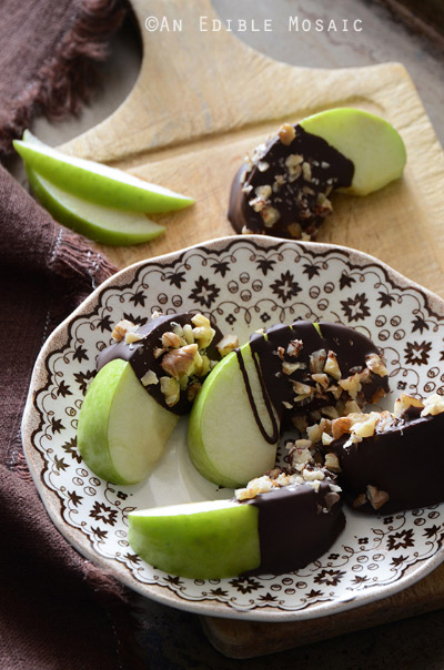 Paleo Candy Apple Wedges