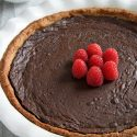 Paleo Chocolate Fudge Pie