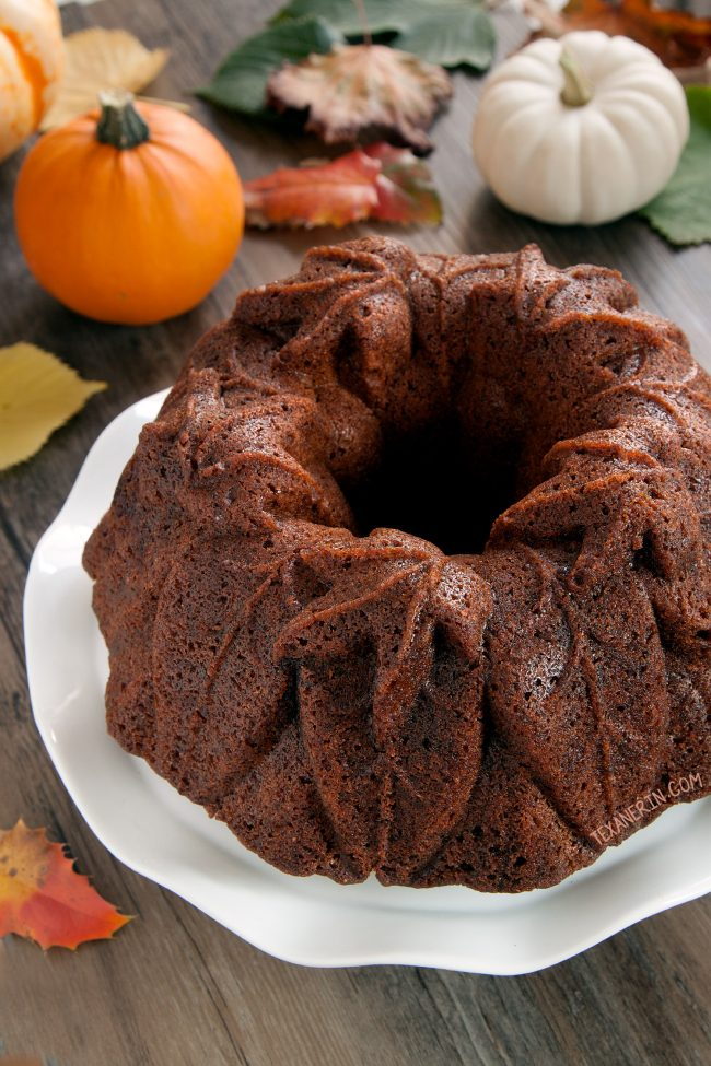 Bourbon Pumpkin Cake (can be made with gluten-free, all-purpose and whole grain flour)