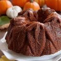 Bourbon Pumpkin Cake (gluten-free, whole grain, all-purpose options)