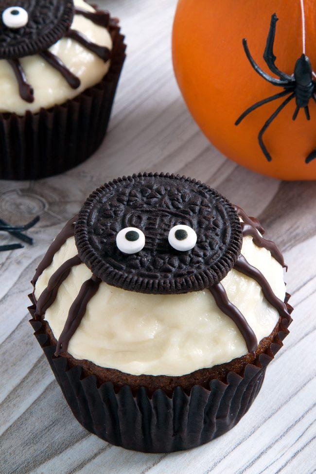 Spider Cupcakes For Halloween Gluten Free Grain Free