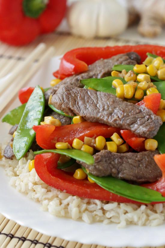Szechwan Beef Stir-Fry