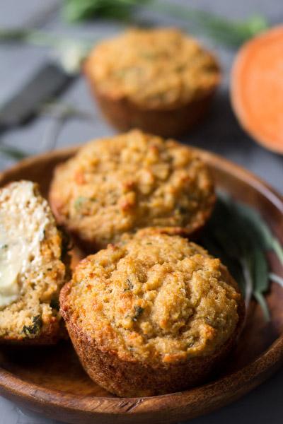 Sweet Potato Savory Muffins from Paleo Running Momma