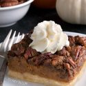 Pumpkin Pecan Pie Bars (gluten-free, whole grain, all-purpose flour options)