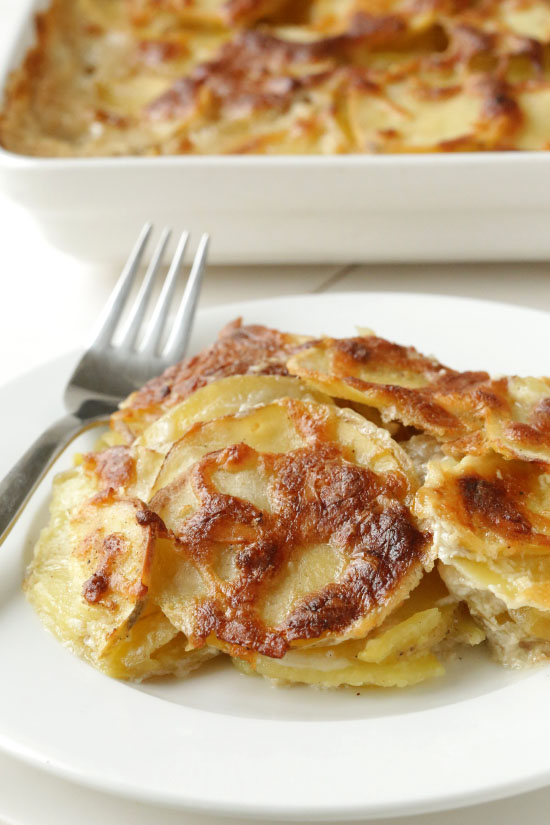 Scalloped Parmesan Potatoes