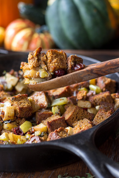 Thanksgiving Stuffed with Pumpkin Bread from Paleo Running Momma