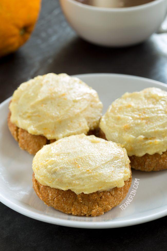 Paleo Vegan Orange Cookies