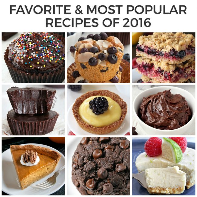 Most Popular (and My Favorite) Recipes of 2016