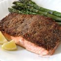 Easy Paleo Pecan-crusted Salmon (Whole 30)