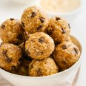 Peanut Butter Protein Balls (gluten-free, vegan options)