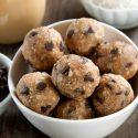 Peanut Butter Protein Balls (gluten-free, vegan, whole grain, dairy-free)