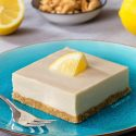 No-bake Paleo Lemon Bars (vegan, gluten-free, grain-free)