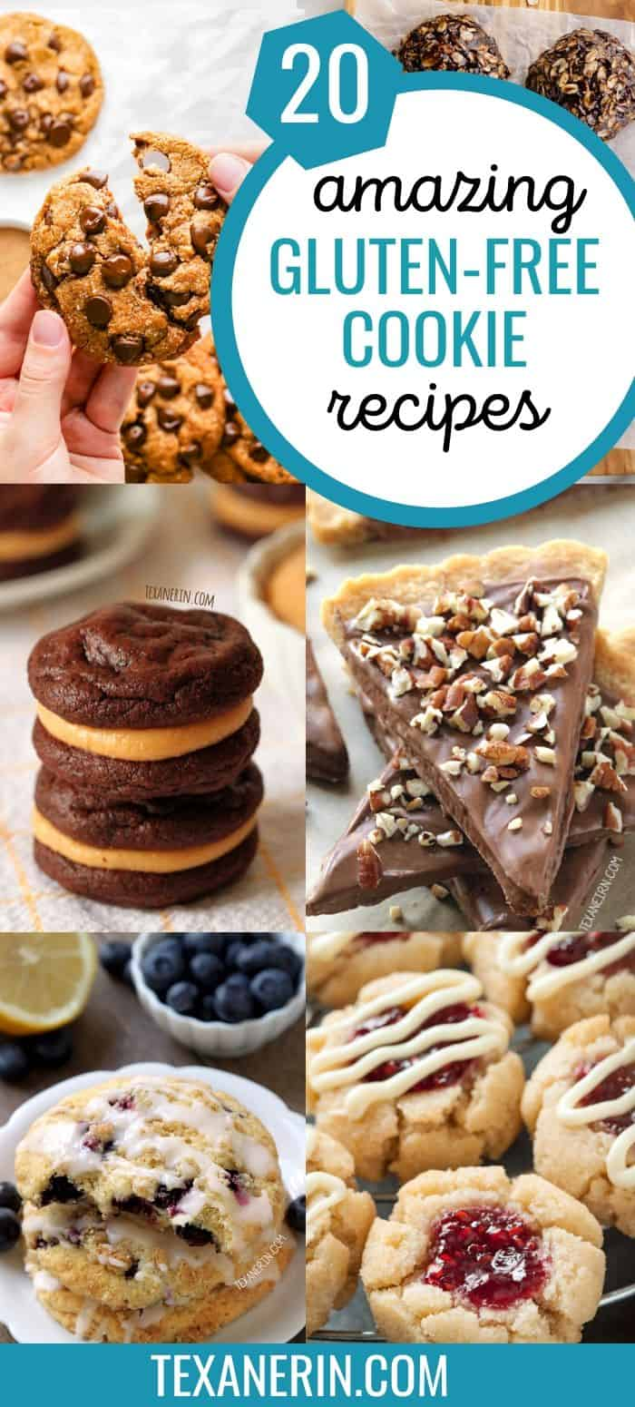 20 gluten-free cookies that you'll want to inhale!