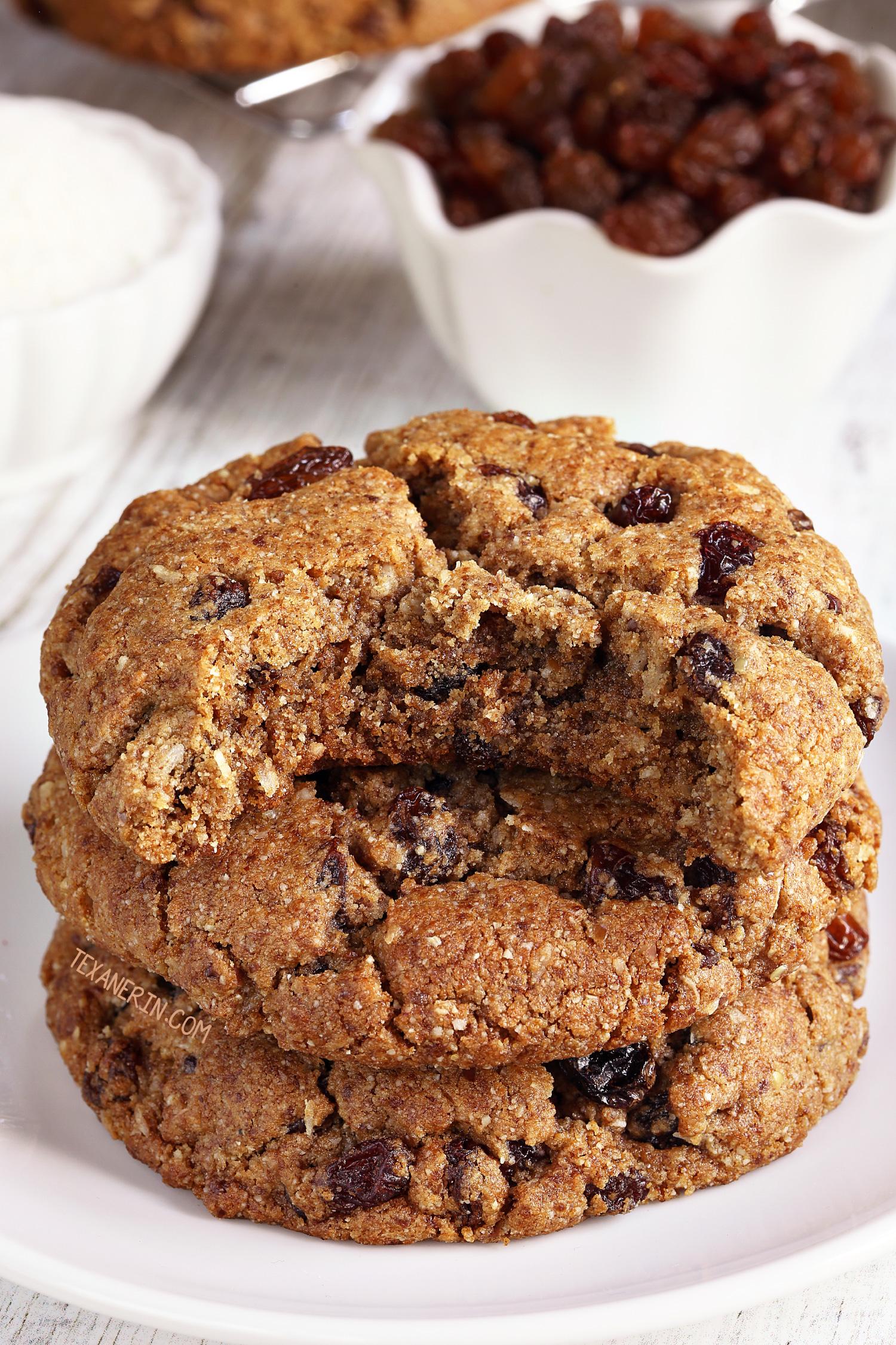 Paleo oatmeal cookies vegan option texanerin baking izmirmasajfo