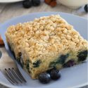 Blueberry Coffee Cake (gluten-free, vegan, whole wheat, all-purpose flour options)