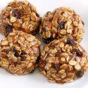 No-bake Oatmeal Cookies (vegan, gluten-free, dairy-free, whole grain)