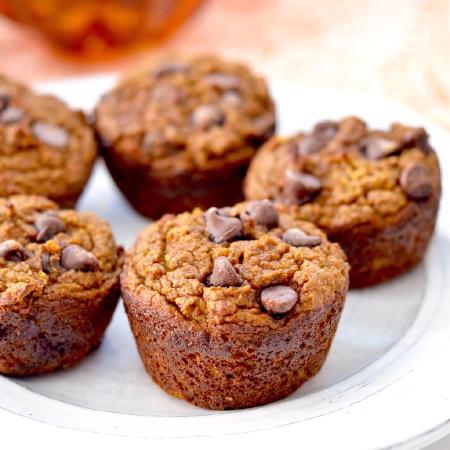 Paleo Pumpkin Zucchini Muffins