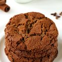 Paleo Gingerbread Cookies (vegan option)