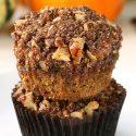 Paleo Pumpkin Muffins with Streusel (grain-free, gluten-free, dairy-free)