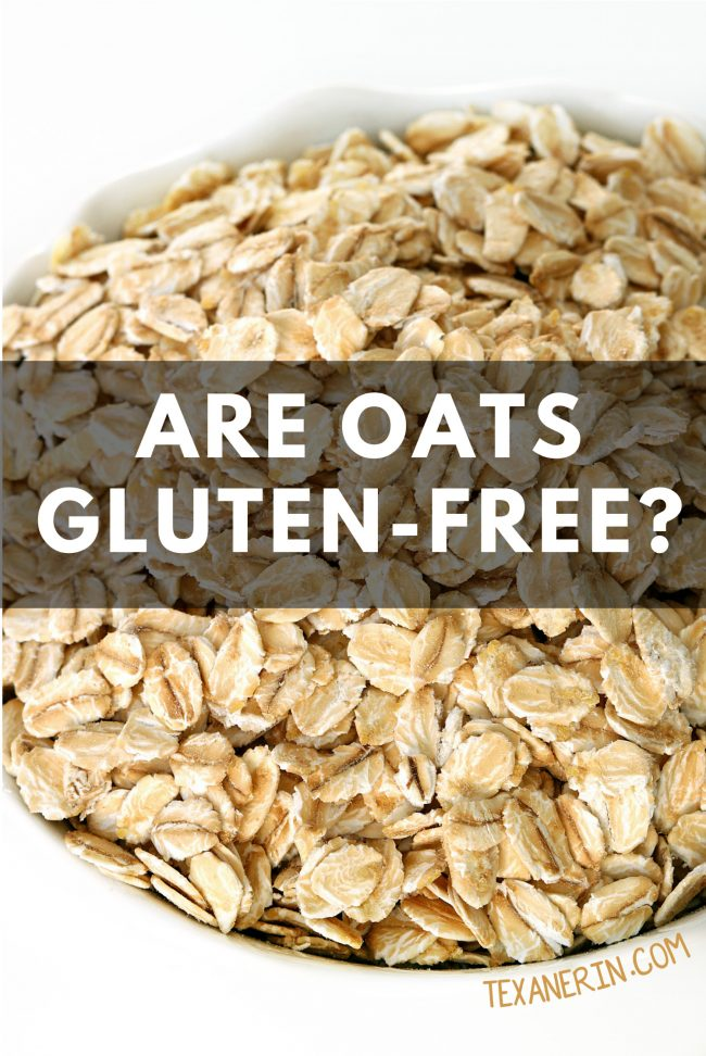 Are oats gluten-free? Yes! But be sure to read the post for a few caveats.