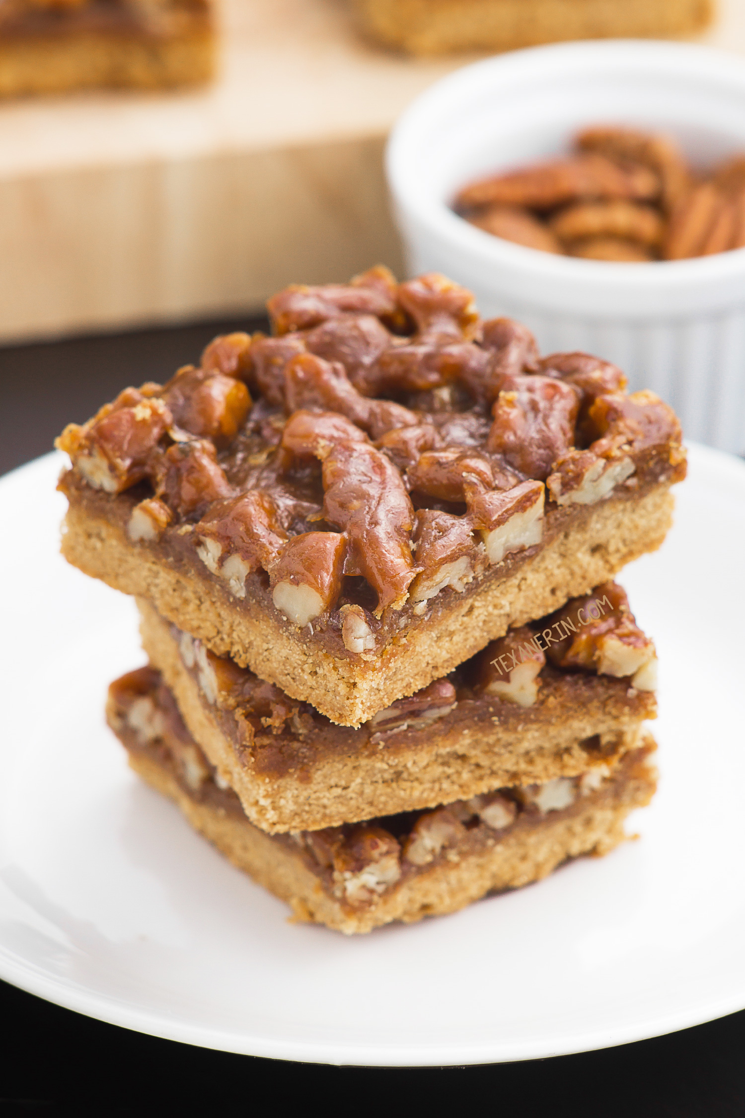Pecan Pie Bars (gluten-free, whole wheat, all-purpose ...