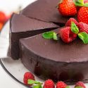 Vegan Chocolate Cheesecake (paleo, no-bake)