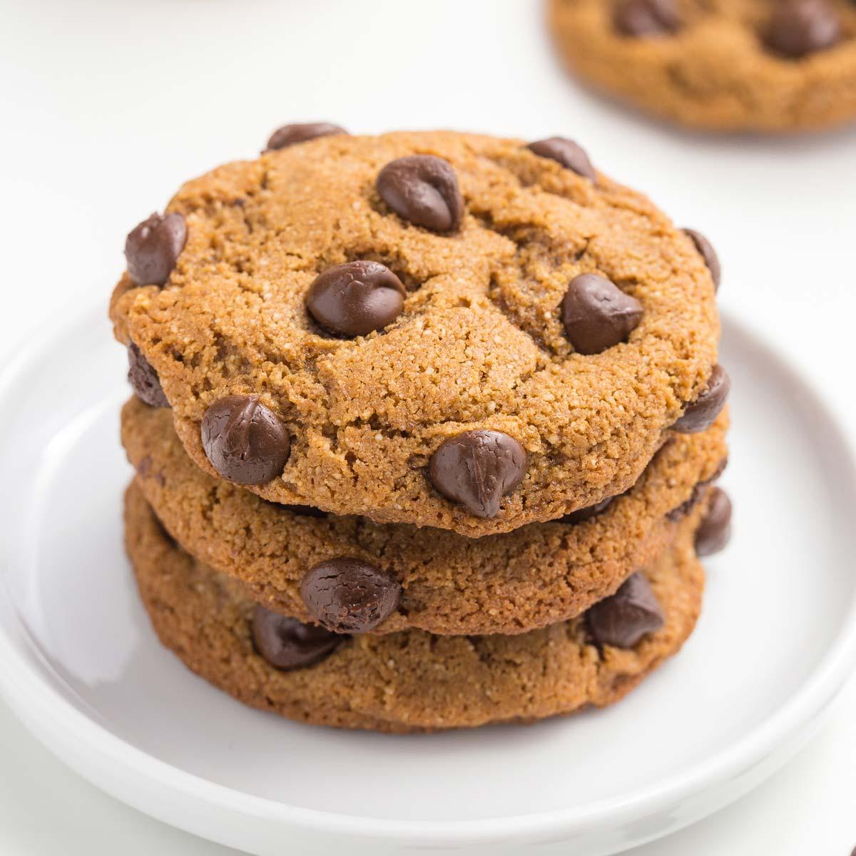Coconut Flour Cookies - Perfect Texture! (paleo, keto, vegan options) -  Texanerin Baking