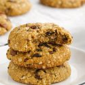 Vegan Oatmeal Cookies (gluten-free, whole wheat, AP flour options)