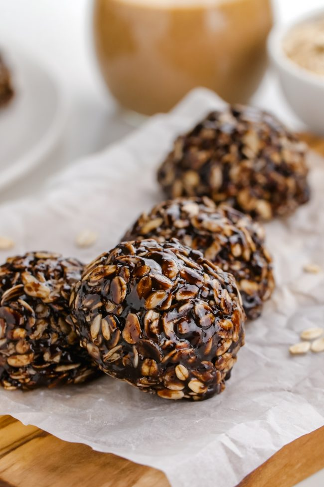 These no-bake chocolate oatmeal cookies are wonderfully chewy, easy to make and are vegan, gluten-free and can be made nut-free.