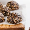 No-bake Chocolate Oatmeal Cookies (gluten-free, vegan)