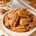 How to Make Candied Pecans – just 3 ingredients! (paleo, vegan)