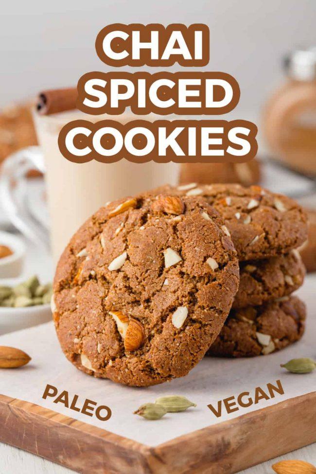 Chai Spiced Cookies Paleo Vegan