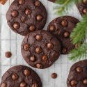Chocolate Gingerbread Cookies (paleo, vegan)