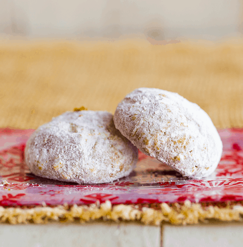 Vegan Pfeffernüsse Cookies