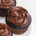 Gluten-free Chocolate Cupcakes (vegan option)