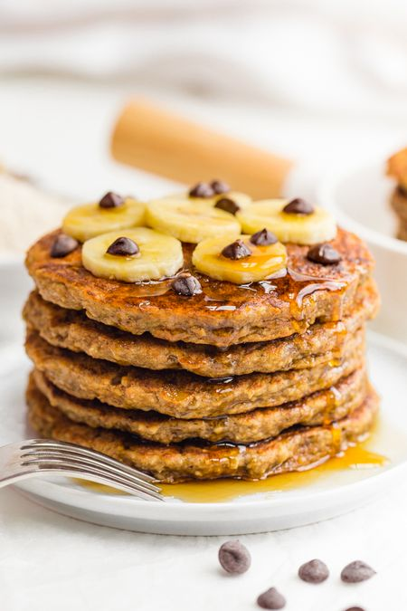 Recipes for kids to make - banana pancakes