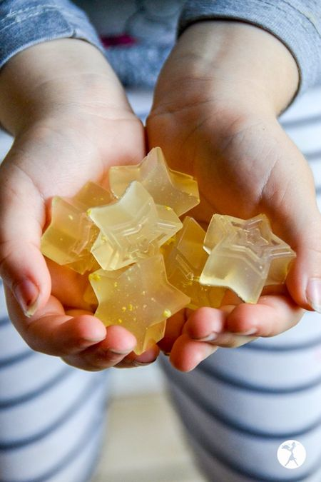 Recipes for kids to make - healing ginger lemon gummies