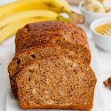 Gluten-free Banana Bread (vegan option)